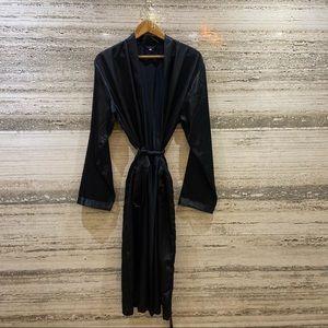 Men's satin robe size L
